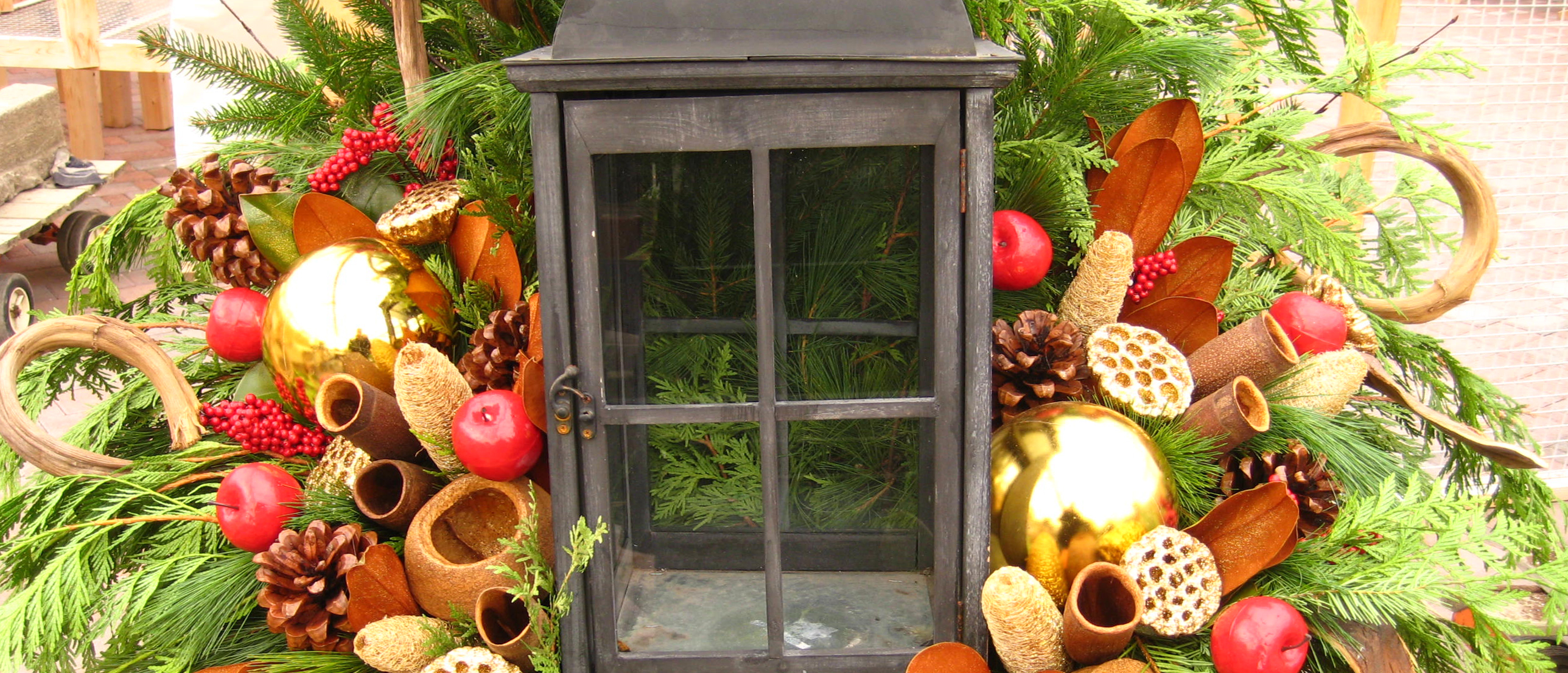 Find Seasonal Decorating options at Johnston's Greenhouse